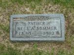 Nels Sommer's Gravestone